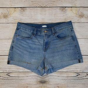 Old Navy Womens Jean Shorts sz 8